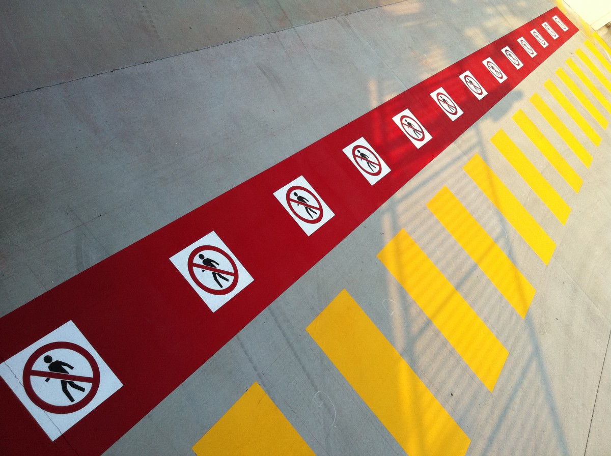 safety linemarking